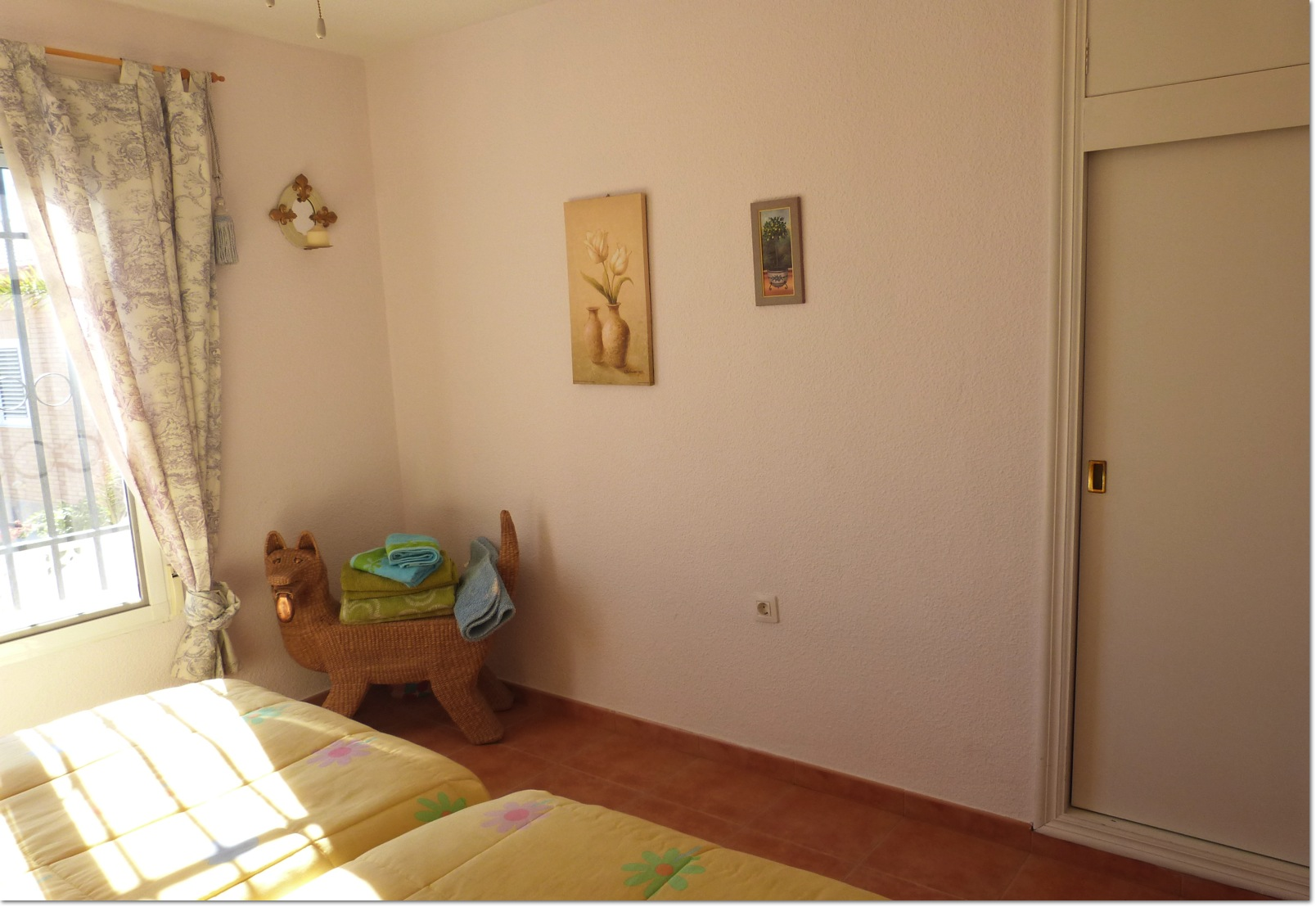 Beautiful 3 Bedroom 2 Bath Villa  in Bolnuevo, Great Location Views.