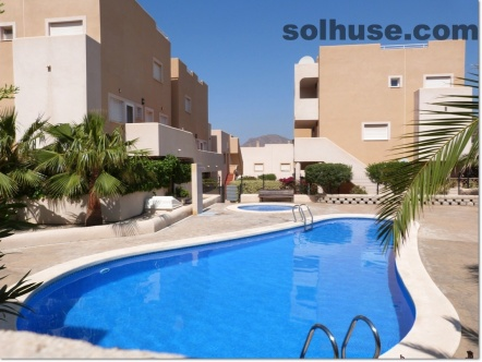PENTHOUSE, 3 BEDS, 2 BATHS, COMMUNAL POOL & SEA VIEWS