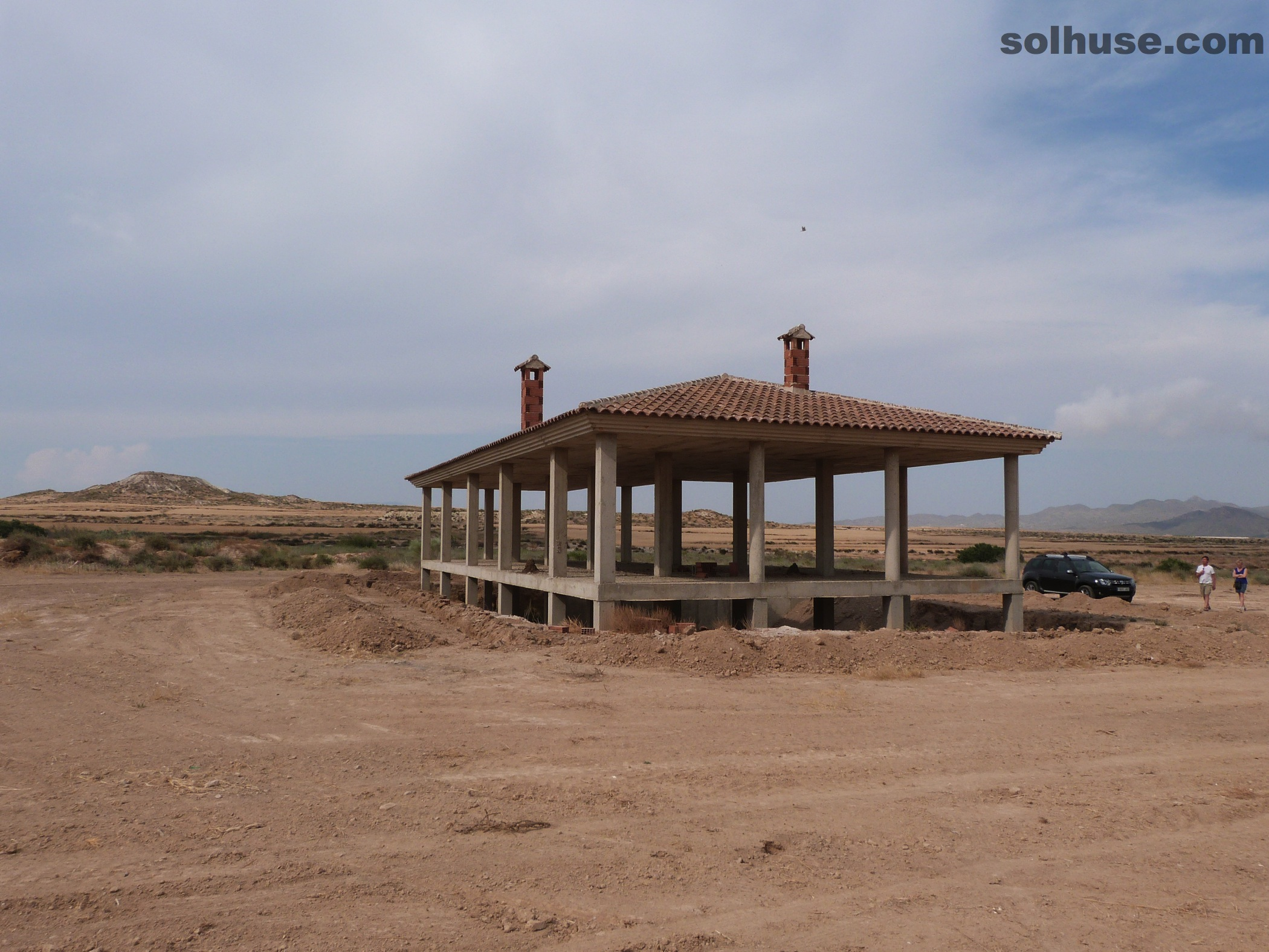 A Large property Under construction in Fabulous country Location!