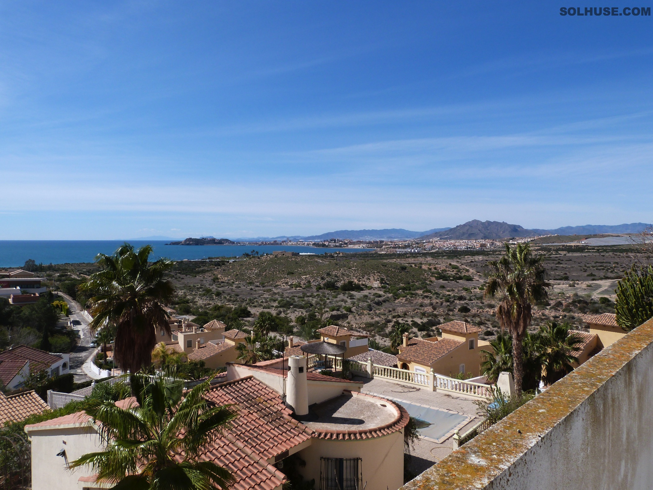 STUNNING LUXURIOUS 3 BED VILLA, PANORAMIC SEA VIEWS, OWN POOL