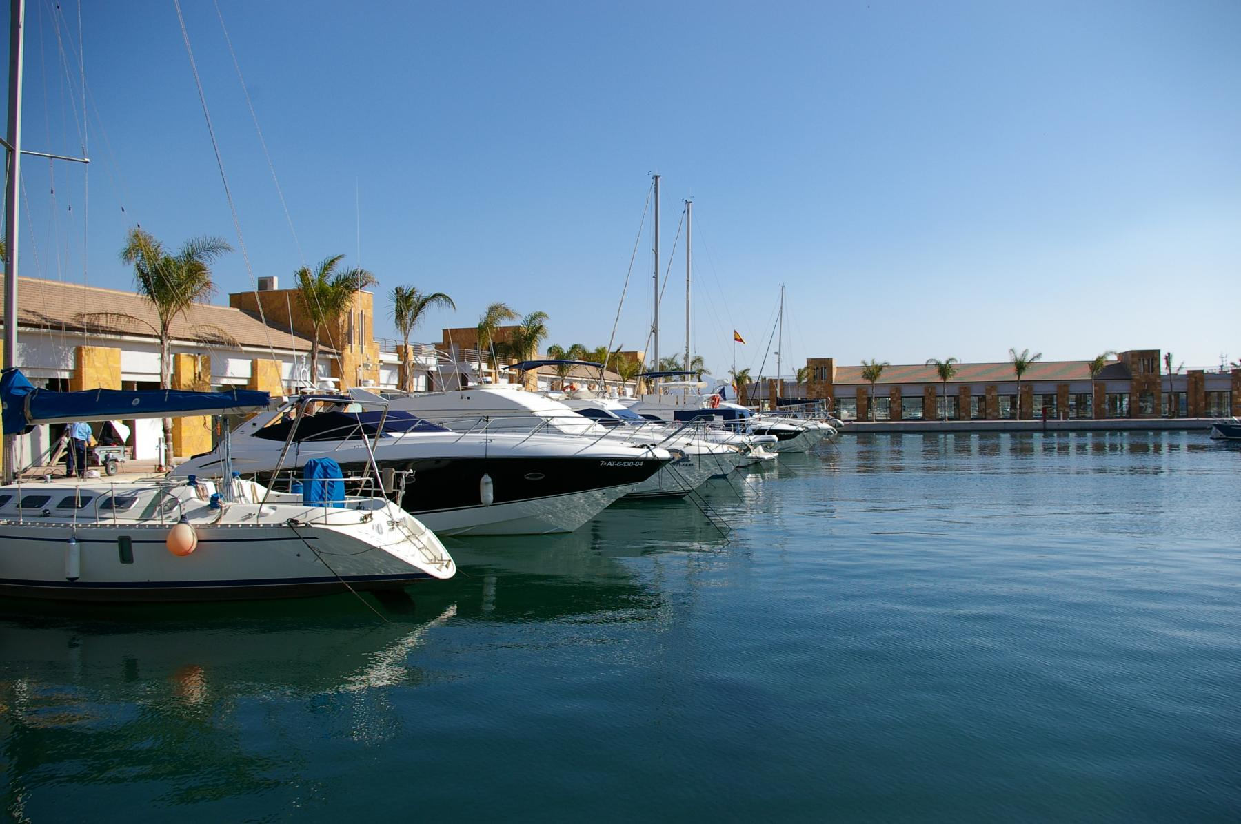 New Marina in the Port of Mazarron