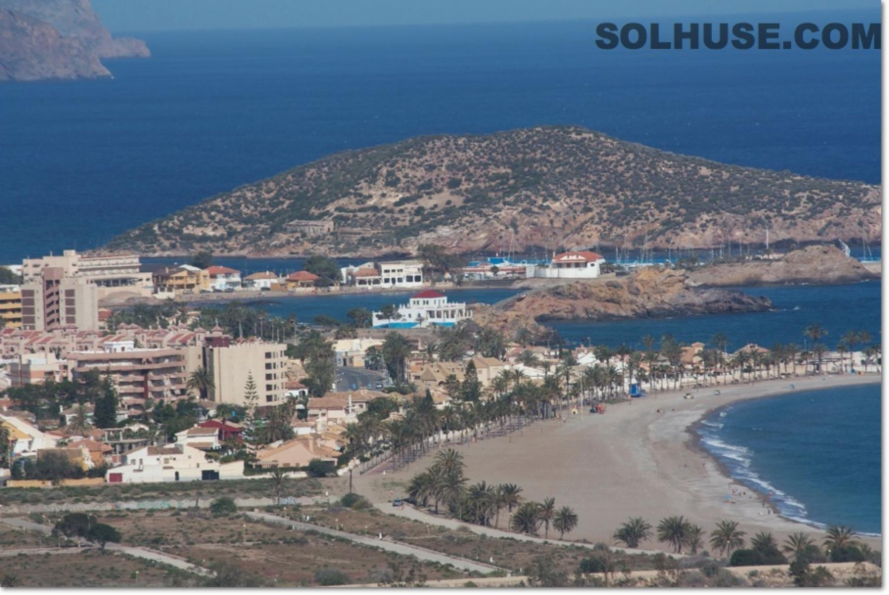 The Coastal area of Puerto de Mazarron